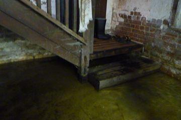 2017-11-05 1020 Bottom of basement stairs.JPG