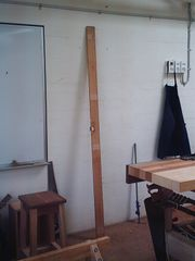 Scavenged door jamb from Facilities and Services skip.jpg